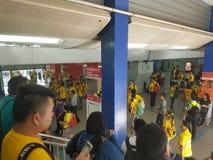 19th 2016 Nov, Kuala Lumpur Malaysia's Bersih 5 wiec: protestujący ważą koszt akcja pod represyjnym reżimem Obraz Royalty Free