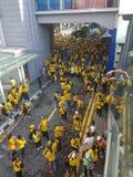 19th November 2016, Kuala Lumpur Malaysiaâ €™s Bersih 5 samlar: personer som protesterar väger kostnaden av handling under ett un Arkivbilder