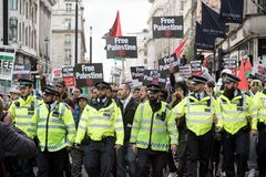 National Demo: Justice Now - Make it right for Palestine London Stock Photos