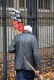 National Demo: Justice Now - Make it right for Palestine London. 4th November 2017, London, United Kingdom:-Pro Palestine demonstrators march through London Stock Photos