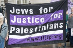 National Demo: Justice Now - Make it right for Palestine London Stock Images