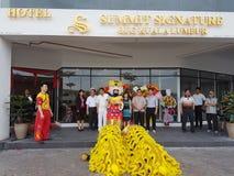 9th October 2016, Puchong Road, Kuala Lumpur. Today is the Soft opening of Summit Signature Hotel OUG Kuala Lumpur. Royalty Free Stock Image