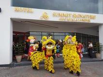 9th October 2016, Puchong Road, Kuala Lumpur. Today is the Soft opening of Summit Signature Hotel OUG Kuala Lumpur. Royalty Free Stock Photos