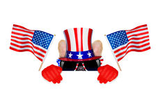 4th oh july dog Royalty Free Stock Image