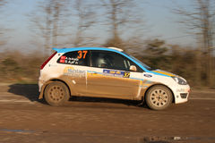 34th Opar Olio Istanbul Rally Royalty Free Stock Images