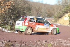 34th Opar Olio Istanbul Rally Royalty Free Stock Photo