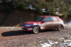 34th Opar Olio Istanbul Rally Royalty Free Stock Photos