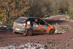 34th Opar Olio Istanbul Rally Stock Image