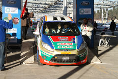 34th Opar Olio Istanbul Rally Royalty Free Stock Photos