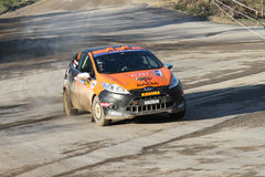34th Opar Olio Istanbul Rally Royalty Free Stock Photography