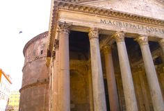 Th Pantheon Stock Images