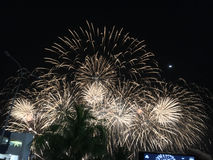 The 7th Philippine International Pyromusical Competition Stock Photo