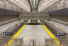 86th plataforma da avenida da rua segunda Foto de Stock Royalty Free