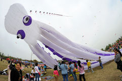 The 2013 Poly International Kite Festival Royalty Free Stock Images