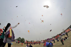 The 2013 Poly International Kite Festival Royalty Free Stock Photos