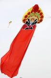 Peking opera mask  kite Royalty Free Stock Photo