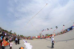 The 2013 Poly International Kite Festival Royalty Free Stock Photography