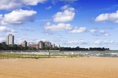 57th Praia da rua (Chicago) Imagem de Stock