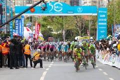 50th Presidential Cycling Tour of Turkey Stock Photos