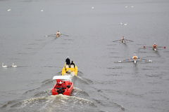 100th Primatorky划船种族在布拉格 库存照片