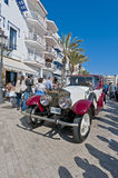 54th Rally Barcelona-Sitges second phase race. Royalty Free Stock Images