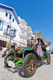 54th Rally Barcelona-Sitges second phase race. Stock Image
