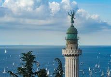 49th regata de BArcolana em Trieste fotos de stock royalty free
