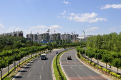 5th ring road in Beijing Stock Photography