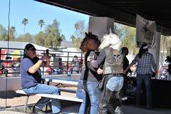4TH Roczna motocykl przejażdżka dla Solankowych Rzecznych Dzikich koni, Arizona, Stany Zjednoczone zdjęcie stock