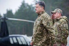 25th rocznica służba bezpieczeńśtwa Ukraina Fotografia Stock