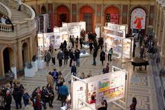 140th rocznica St Petersburg sztuka i przemysł akademia Obraz Royalty Free