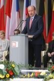 20th rocznica zawalenie się komunizm w Środkowym Europa Obrazy Stock
