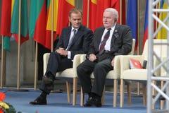 20th rocznica zawalenie się komunizm w Środkowym Europa Fotografia Stock