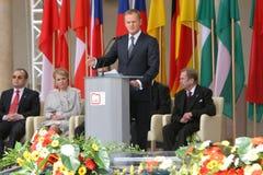 20th rocznica zawalenie się komunizm w Środkowym Europa Fotografia Royalty Free