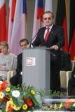 20th rocznica zawalenie się komunizm w Środkowym Europa Zdjęcie Stock