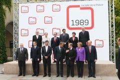 20th rocznica zawalenie się komunizm w Środkowym Europa Zdjęcia Royalty Free
