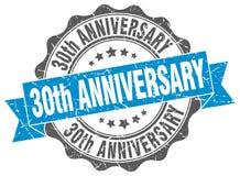 30th rocznica znaczek Obrazy Royalty Free