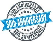 30th rocznica znaczek Obraz Royalty Free