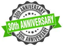 30th rocznicowa foka znaczek Fotografia Stock