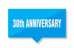 30th rocznicowa metka Fotografia Stock