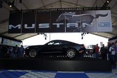 50th Rocznicowy mustang GT stawia czoło z lewej strony Zdjęcia Stock