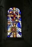 900th rocznicowy okno Obrazy Stock