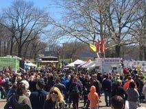 37th Roczny Daffodil festiwal w Meriden, Connecticut Zdjęcie Royalty Free