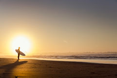 18th 2008 sätter på land surfarear för fotoet för önovember padre som tas texas Arkivbilder