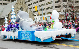 109th Santa Claus Parade em Toronto Fotos de Stock