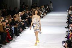a 39th semana de moda ucraniana em Kiev Fotografia de Stock