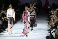 a 39th semana de moda ucraniana em Kiev Imagens de Stock