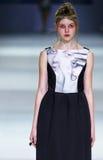 a 39th semana de moda ucraniana em Kiev Imagem de Stock