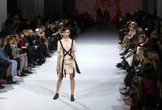 a 39th semana de moda ucraniana em Kiev Foto de Stock Royalty Free