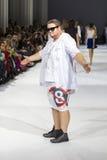 a 39th semana de moda ucraniana em Kyiv Imagem de Stock Royalty Free